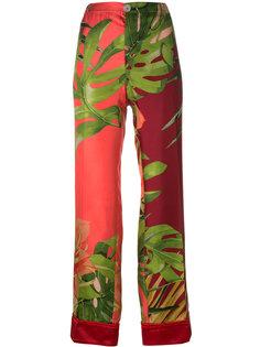 брюки с цветочным принтом F.R.S For Restless Sleepers