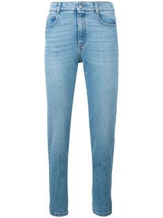 укороченные джинсы скинни Stella McCartney