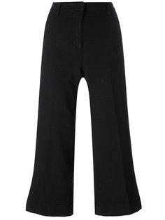 расклешенные укороченные брюки  Barba