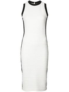 textured midi dress Nicole Miller