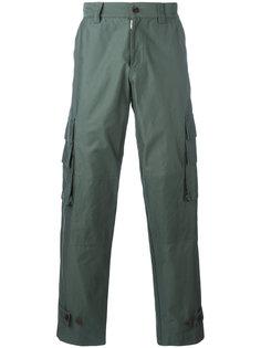 брюки с боковыми карманами Undercover