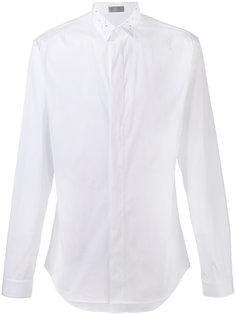рубашка с декорацией на воротнике Dior Homme