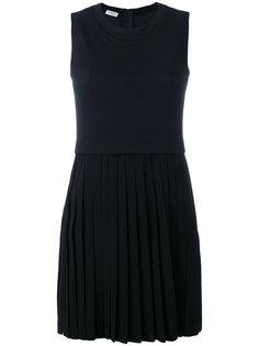 платье с юбкой плиссе  Akris Punto