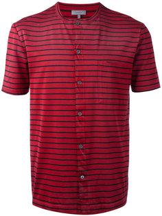 полосатая футболка на пуговицах Lanvin