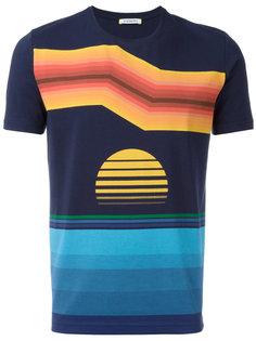футболка с абстрактным принтом Iceberg
