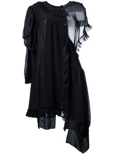 asymmetric dress Simone Rocha
