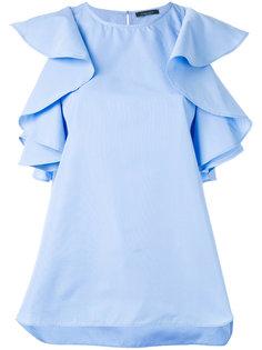 блузка с пышными рукавами Roberto Collina
