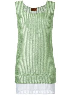 вязаное мини-платье Missoni