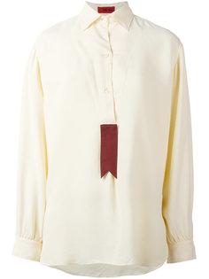 рубашка с контрастной вставкой The Gigi