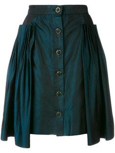 юбка с плиссировкой Chanel Vintage