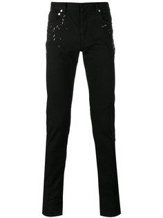 декорированные джинсы  Dior Homme
