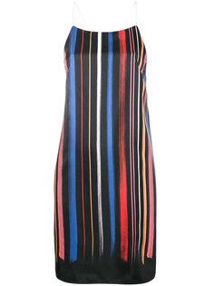 платье в полоску Adam Selman