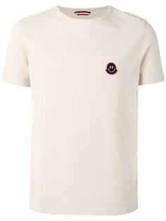 футболка с аппликацией Moncler