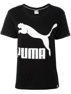 футболка с логотипом Puma