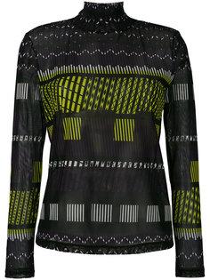 printed sweatshirt  Issey Miyake