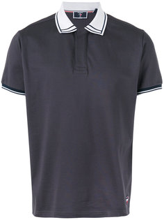 contrast collar polo shirt Rossignol