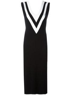 платье с глубоким v-образным вырезом Rag & Bone