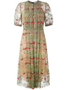 платье с цветочным принтом Gabriela Hearst