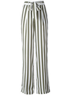 полосатые брюки с завышенной талией Equipment