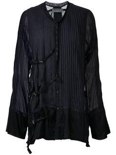плиссированная рубашка Di Liborio