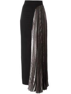 длинная юбка с вырезами  Christopher Kane