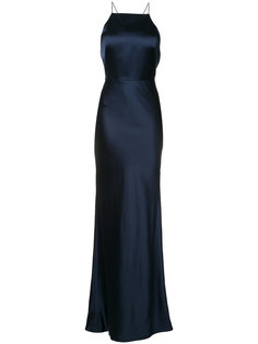 halter-neck long dress  Jason Wu