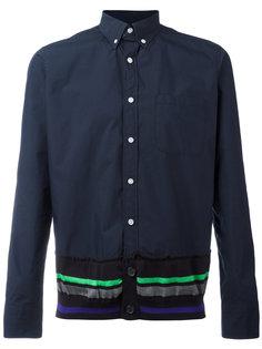 contrast trim shirt  Kolor