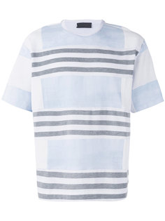 striped T-shirt Diesel Black Gold