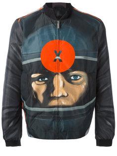 куртка-бомбер с принтом мишени  Christopher Kane