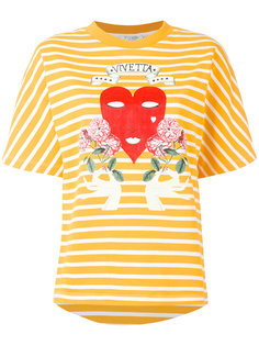 футболка в полоску  Vivetta