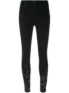 джинсы скинни с принтом брызг краски Vivienne Westwood