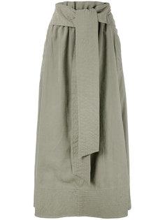плиссированная юбка с эластичным поясом Joseph