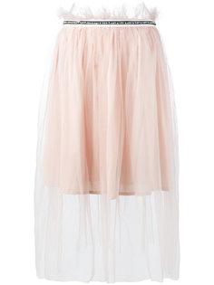 декорированная тюлевая юбка Mother Of Pearl