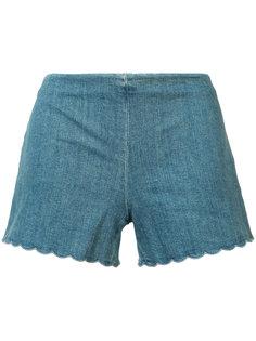 джинсовые шорты Alice+Olivia