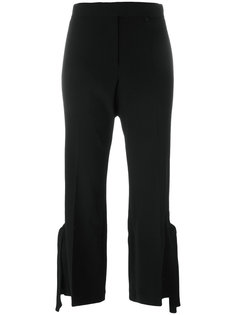 укороченные брюки с лямками Calvin Klein Collection