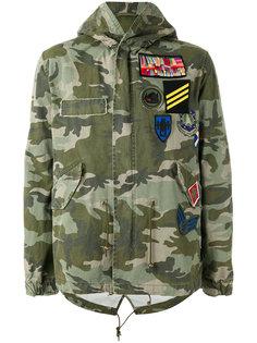 camouflage print jacket Mr & Mrs Italy