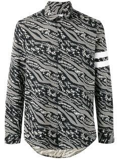 рубашка с абстрактным принтом  Les Benjamins