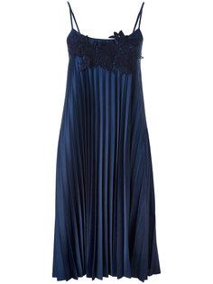 плиссированное платье  P.A.R.O.S.H.