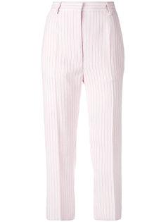строгие брюки в полоску Mm6 Maison Margiela