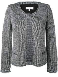 Wallace metallic knit jacket Iro