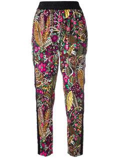спортивные брюки с цветочным принтом 3.1 Phillip Lim