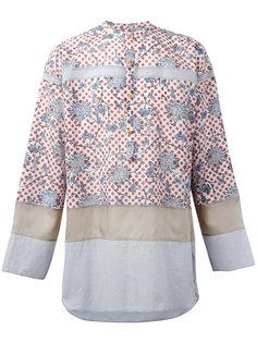 floral dots shirt Kolor