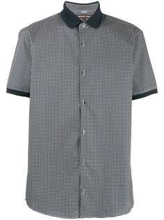 рубашка с короткими рукавами и мелким принтом Michael Michael Kors
