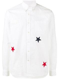 рубашка с вышивкой звезд Sophnet.