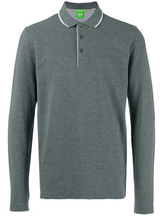 рубашка-поло с длинными рукавами Boss Hugo Boss