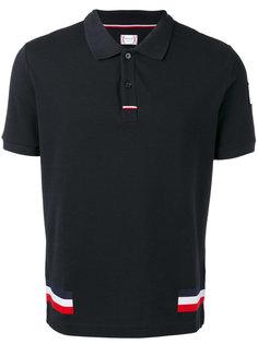футболка-поло с логотипом Moncler Gamme Bleu