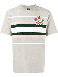 футболка с заплаткой John Booth Fendi