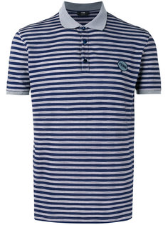 футболка-поло в полоску Fendi