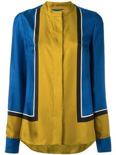 рубашка колор блок Diane Von Furstenberg
