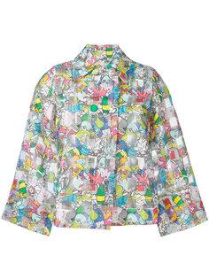 укороченная куртка с принтом Garbage  Ultràchic